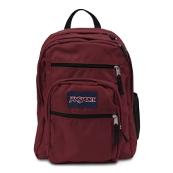 """JanSport® Big Student Backpack With 15"""" Laptop Pocket, Viking Red"""