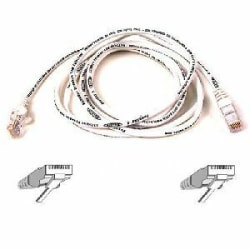 Belkin Cat5e Patch Cable - RJ-45 Male - RJ-45 Male - 20ft - White