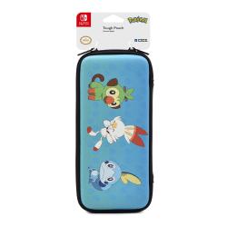 Hori Pokémon Sword & Shield Tough Pouch For Nintendo Switch Lite, Blue/Red