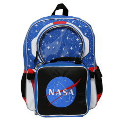 Accessory Innovations NASA Astronaut Backpack With Lunch Kit, Multicolor