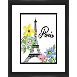 "PTM Images Framed Art, Paris II, 20""H x 24""W"