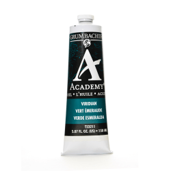 Grumbacher Academy Oil Colors, 5.07 Oz, Viridian Hue, Pack Of 2