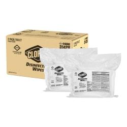 Clorox® Disinfecting Wipes Refills, Fresh Scent, 700 Wipes Per Bag, Carton Of 2 Bags