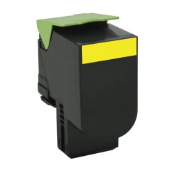 Lexmark™ 80C1XY0 Extra High-Yield Yellow Toner Cartridge