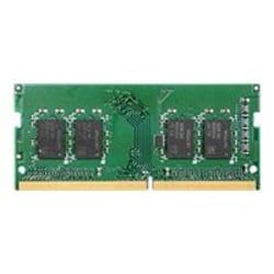 Synology - DDR4 - module - 4 GB - SO-DIMM 260-pin - 2666 MHz / PC4-21300 - 1.2 V - unbuffered - non-ECC - for Deep Learning NVR DVA3219