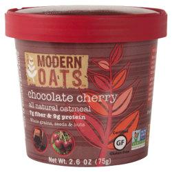 Modern Oats™ Oatmeal Cups, Chocolate Cherry, 2.6 Oz, Pack Of 12