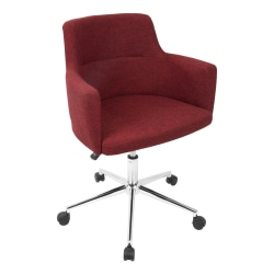 Lumisource Andrew Office Chair, Red