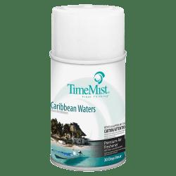 TimeMist® Premium Metered Air Freshener Refill, 5.3 Oz, Caribbean Waters