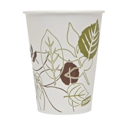 Dixie® Pathways® Paper Cold Cups, 9 Oz, Multicolor, 100 Cups Per Sleeve, Case Of 24 Sleeves