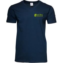 Men's Cotton V-neck T-shirt