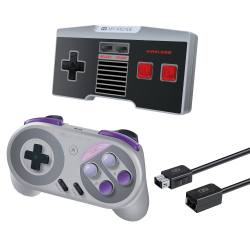 dreamGEAR Retro Controllers & Cable