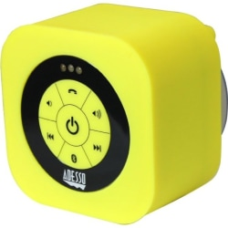 Adesso Xtream S1Y Portable Bluetooth® Speaker System, Yellow