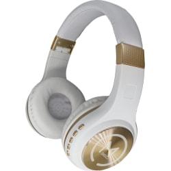 Morpheus 360 Wireless Stereo Bluetooth Headphones HP5500 Series - Stereo - Mini-phone - Wired/Wireless - Bluetooth - 32 Ohm - 20 Hz - 22 kHz - Over-the-head - Binaural - Circumaural - Gold, White