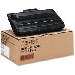 Ricoh® 412660 Black Toner Cartridge Type 2185