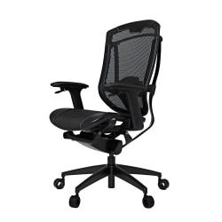 Vertagear Triigger 350 Bonded Leather Ergonomic Gaming Chair, Black