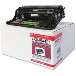 microMICR IMA-501 - Black - compatible - printer imaging unit - for Lexmark MS312, MS317, MS415, MS417, MS517, MS617, MX317, MX410, MX417, MX511, MX517, MX617