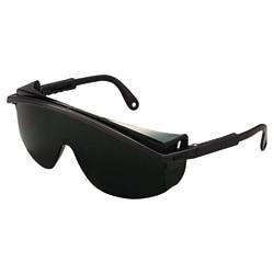 Astrospec 3000 Eyewear, Mirror Lens, Anti-Scratch, Hard Coat, Black Frame