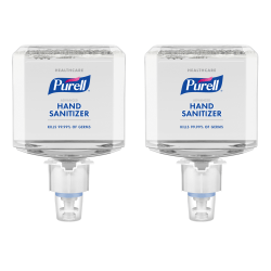 Purell® Healthcare Advanced Foam Hand Sanitizer Refills, Clean Scent, 40.57 Oz, Pack Of 2 Refills