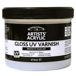 Winsor & Newton Artists' Acrylic UV Varnish, Gloss, 237 mL
