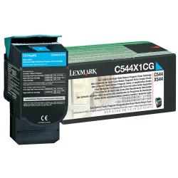 Lexmark™ C544X1CG High-Yield Cyan Toner Cartridge