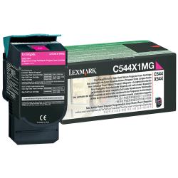 Lexmark™ C544X1MG Return Program High-Yield Magenta Toner Cartridge