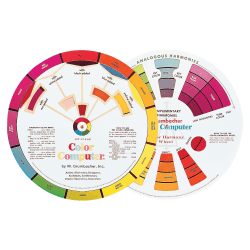 Grumbacher Dual-sided Color wheel - 1 Each