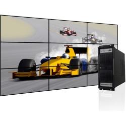 SmartAVI PresenterWall Digital Signage Appliance, Intel® Processor, 2GB Memory, 120GB Hard Drive, VW-09XVAS