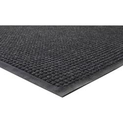 Genuine Joe Waterguard Mat, 4' x 6', Charcoal