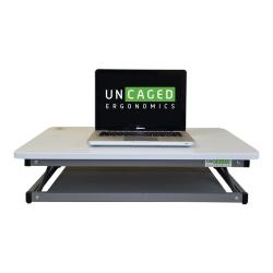 Uncaged Ergonomics CHANGEdesk Mini - Standing desk converter - rectangular - white