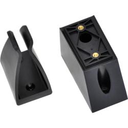 "Ergotron 97-566 Handheld Scanner Holder - 1.8"" x 3.5"" x - Plastic - Black"