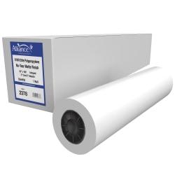 "HP Everyday Matte Polypropylene Roll Film Roll, 2"" Core, 42"" x 100', 85 Lb, Pack Of 2"