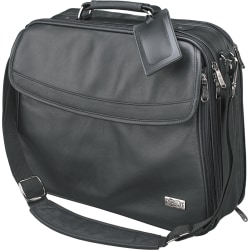 Tripp Lite Traditional Brief Bag Notebook / Laptop Computer Carrying Case - Top-loading - Koskin - Black