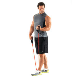 """Black Mountain Products New Strong Man Resistance Bands, 48"""" Long, Assorted Colors, Set Of 6"""