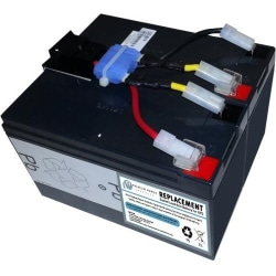 eReplacements Compatible Sealed Lead Acid Battery Replaces APC SLA48, APC RBC48, for use in APC Smart-UPS DLA750, DLA750I, SIA750ICH-45, SMT750, SMT750I, SMT750ICH, SMT750TW, SMT750US, SUA750, SUA750I, SUA750IX38 - Sealed Lead Acid (SLA) Battery