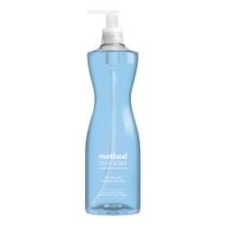 Method™ Dishwashing Soap, Sea Minerals Scent, 18 Oz Bottle