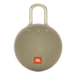 JBL Clip 3 Portable Bluetooth® Speaker, Sand, JBLCLIP3SAND