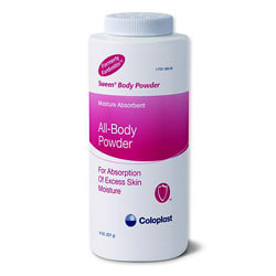 Sween Body Powder, 8 oz (227 g) Bottle