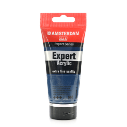 Amsterdam Expert Acrylic Paint Tubes, 75 mL, Phthalo Turquoise Blue, Pack Of 2