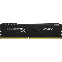 HyperX Fury 32GB DDR4 SDRAM Memory Module - For Desktop PC - 32 GB - DDR4-3200/PC4-25600 DDR4 SDRAM - 3200 MHz - CL16 - 1.35 V - Non-ECC - Unbuffered - 288-pin - DIMM - Lifetime Warranty