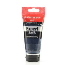 Amsterdam Expert Acrylic Paint Tubes, 75 mL, Prussian Blue Phthalo, Pack Of 2