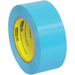 """Scotch® 8898 Tensilized Poly Strapping Tape, 3"""" Core, 2"""" x 60 Yd., Blue, Case Of 12"""