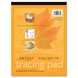 Art1st Parchment Tracing Paper, 16lb, 19 x 24, White, 50/Pack