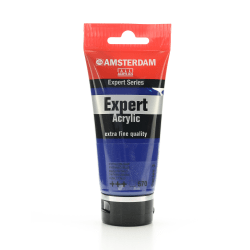 Amsterdam Expert Acrylic Paint Tubes, 75 mL, Phthalo Blue, Pack Of 2