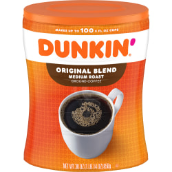 Dunkin' Donuts® Original Blend Ground Coffee, 30 Oz Bag