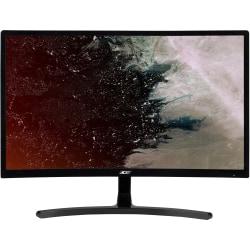 "Acer ED242QR 23.6"" Full HD Curved Screen LED LCD Monitor - 16:9 - Black - Vertical Alignment (VA) - 1920 x 1080 - 16.7 Million Colors - FreeSync - 250 Nit - 4 ms - 144 Hz Refresh Rate - DVI - HDMI - DisplayPort"