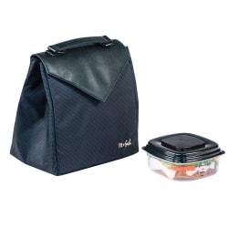 Fit & Fresh Professional North Station Lunch Bag, Black