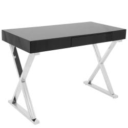 Lumisource Luster Computer Desk, Black