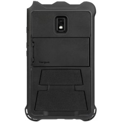 Targus Field-Ready - Back cover for tablet - polycarbonate, thermoplastic polyurethane (TPU) - black - for Samsung Galaxy Tab Active 2