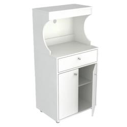 """Inval Galley Kitchen Storage Cabinet, 49-1/8""""H x 23-5/8""""W x 16-15/16""""D, White"""