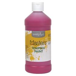 Handy Art 16 oz. Little Masters Tempera Paint - 16 fl oz - 1 Each - Magenta